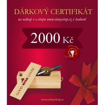 Dárkový certifikát