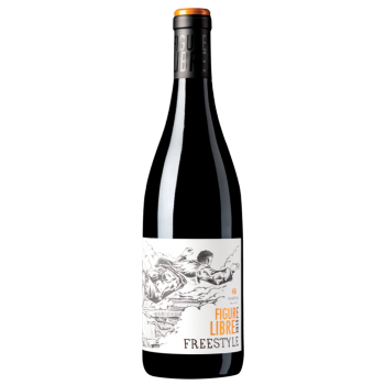 Figure Libre IGP Freestyle Rouge 2015, Domaine Gayda