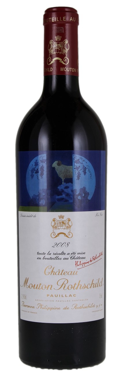Chateau Mouton Rothschild 2008, Pauillac