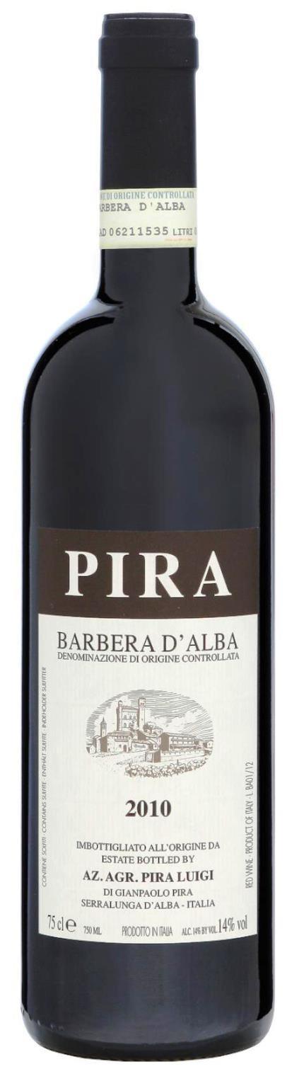 Barbera d´Alba 2016, Luigi Pira