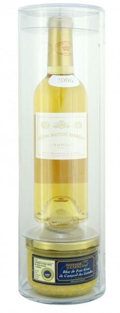 Gourmet set - Dauphine Rondillon 2013 + Foie gras pate 180gr.