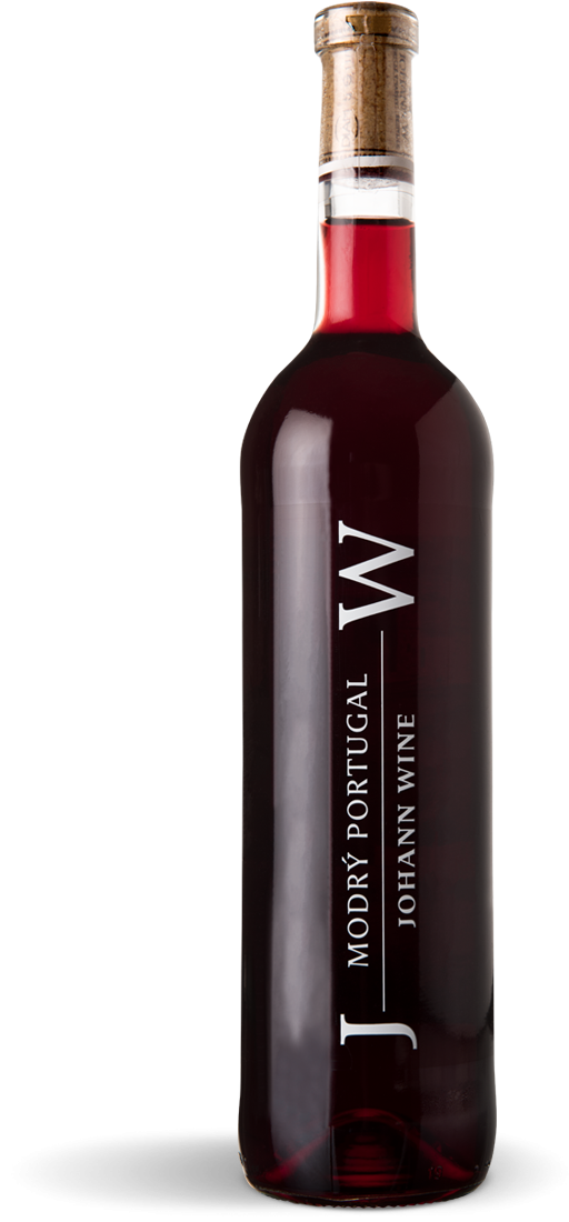 Modrý Portugal, zemské, suché, Vinařství Johann W - Třebívlice
