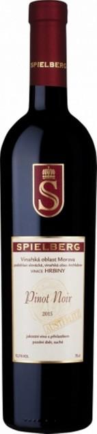 Pinot Noir 2016, pozdní sběr, suché, Vinařství Spielberg