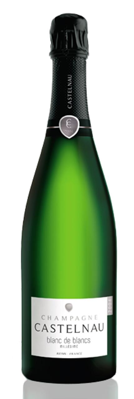 Champagne De Castelnau Blanc de Blancs Millésime 2004 - NEW