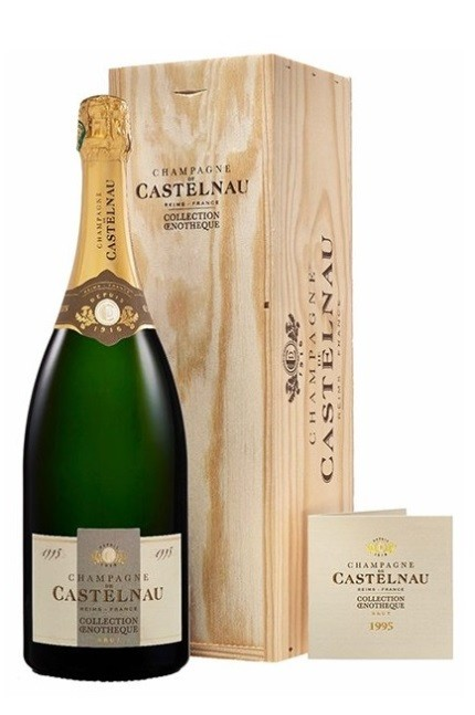 Champagne De Castelnau Collection Oenotheque 1995, 1,5l