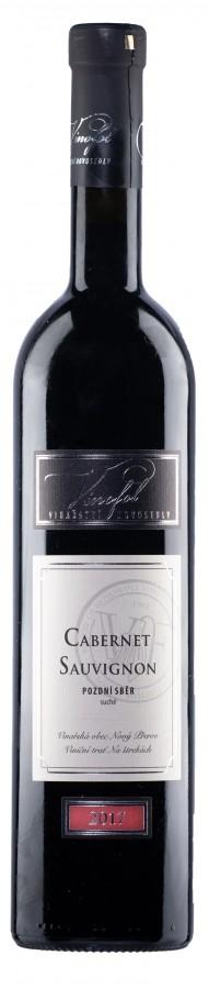 Cabernet Sauvignon 2017, pozdní sběr, suché, Vinařství Vinofol