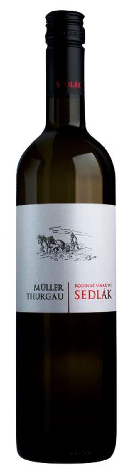 Müller Thurgau 2018, zemské, suché, Vinařství Sedlák
