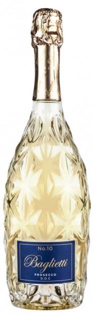 Prosecco Spumante DOC Baglietti No.10, 1,5l Magnum - Extra Dry