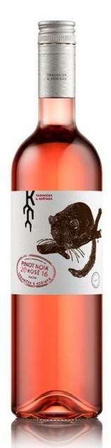 Pinot noir rosé 2018, kabinetní, suché, Vinařství Trávníček & Kořínek, 13% alk.