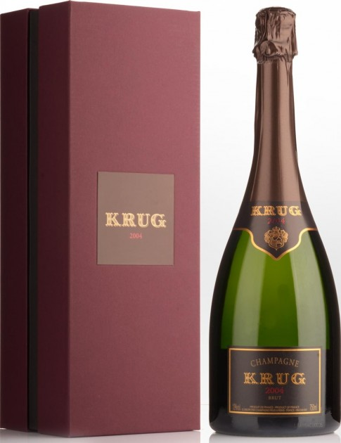 Krug Vintage 2004 gift box