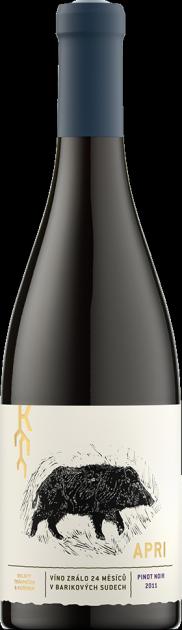 Apri Pinot Noir mzv 2017, suché, Vinařství Trávníček & Kořínek