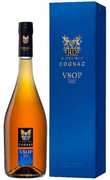 Cognac Richard Delisle V.S.O.P., 40%, box