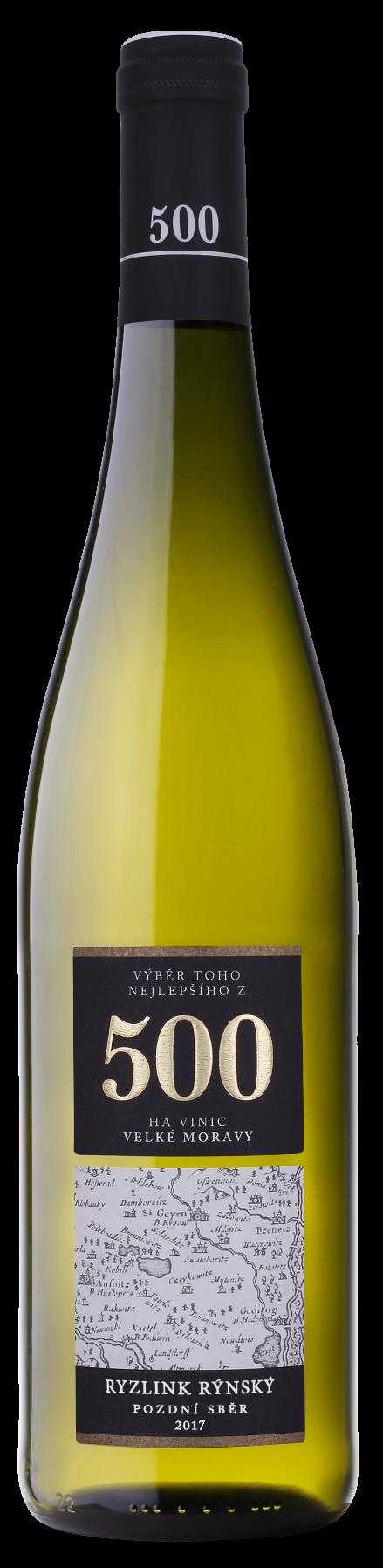 Ryzlink Rýnský 500 2017, Vinařství Neoklas Šardice