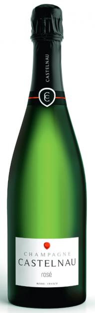 Champagne De Castelnau Rosé, 1,5l Magnum