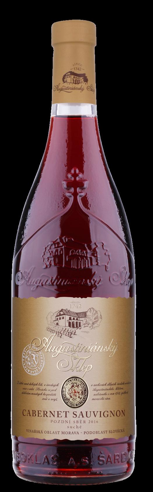 Cabernet sauvignon 2017, přívlastkové PS, Vinařství Neoklas