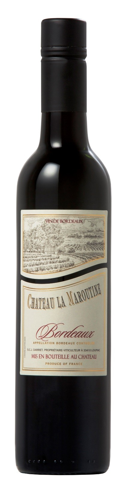 Chateau la Maroutine red 2016, 0,375 l, Bordeaux AOC - SCREWCAP