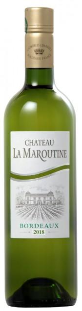 Chateau la Maroutine white 2018, 0,375 l, Bordeaux AOC - SCREWCAP