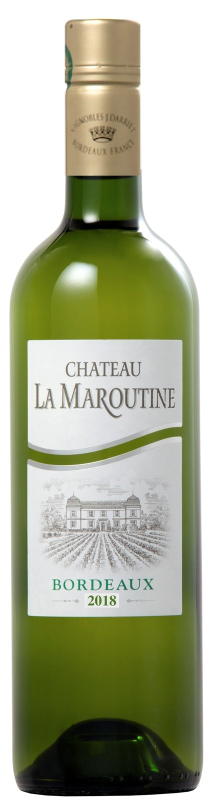 Chateau la Maroutine white 2018, 0,375 l, Bordeaux AOC - SCREWCAP