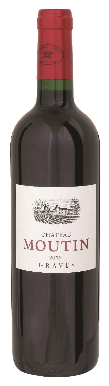 Chateau Moutin 2015 AOC, Graves