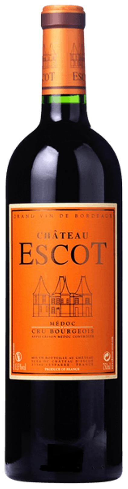 Chateau Escot AOC 2016, 0,375 l, Medoc