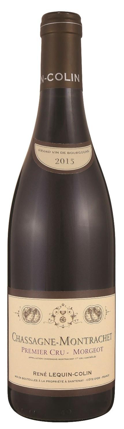 "Chassagne Montrachet rouge 1er Cru ,,Morgeot"" 2015, Domaine Lequin - Colin"
