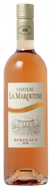 Chateau la Maroutine rosé 2018, 0,375 l, Bordeaux AOC - SCREWCAP