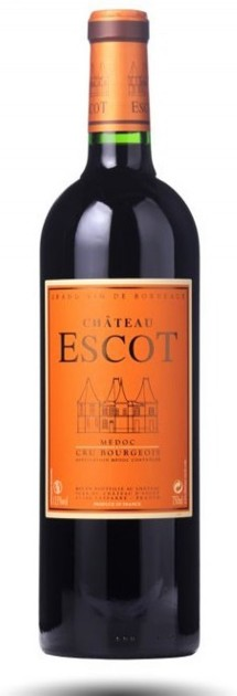 Chateau Escot AOC 2016, 5l, Medoc