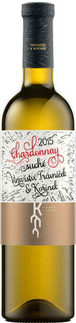 Chardonnay ps 2018, Vinařství Trávníček & Kořínek