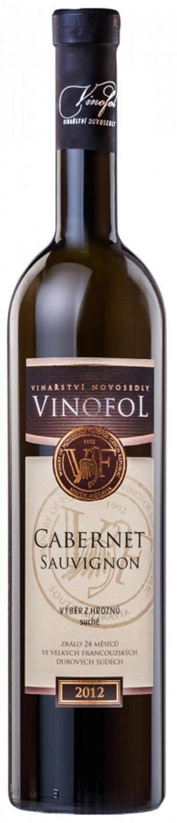 Cabernet Sauvignon 2018, výběr z hroznů, suché, Vinařství Vinofol