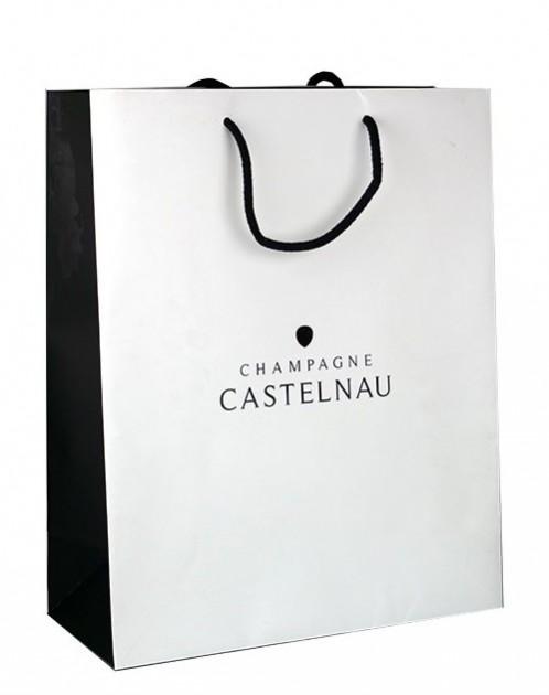 Champagne Castelnau - Taška papírová