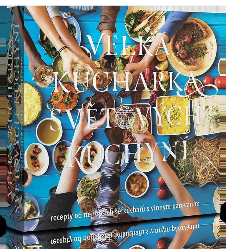 Kniha - Velká Kuchařka Světových Kuchyní