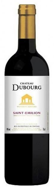 Chateau Dubourg 2014, 0,375 l, Saint Emilión - AKCE