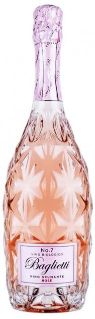 Baglietti No.7 Rosé - Extra Dry Spumante Biologico