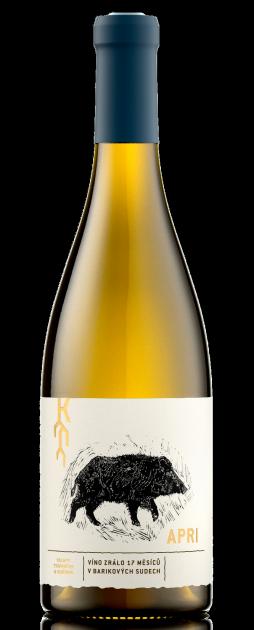 Apri Chardonnay 2016, suché, Vinařství Trávníček & Kořínek