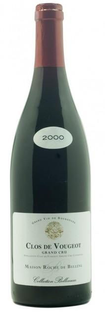 Clos Vougeot Grand Cru 2000, Collection Bellenum