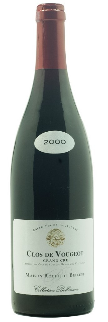 Clos Vougeot Grand Cru 2000, Collection Bellenum