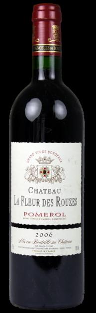Chateau La Fleur des Rouzes 2016, Pomerol