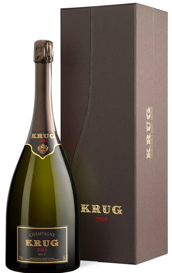 Krug Vintage 2003, 1,5 l, gift box