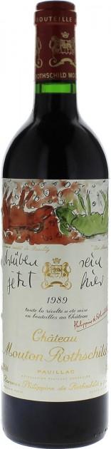 Chateau Mouton Rothschild 1989, 1,5 l Magnum, Pauillac
