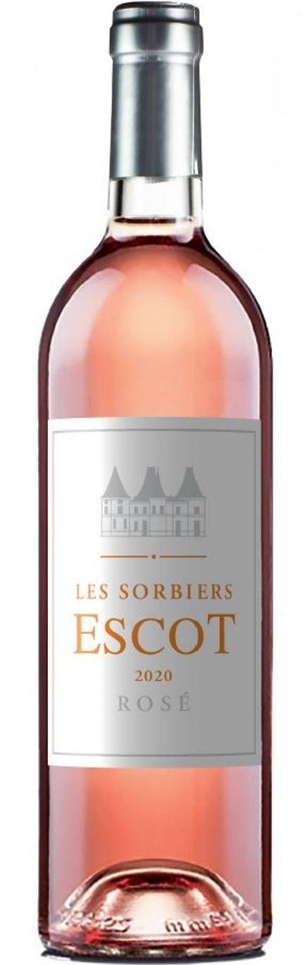 Les Sorbiers Escot 2020, rosé, Medoc
