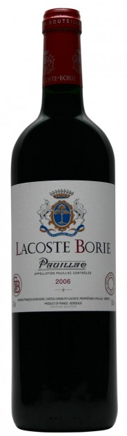 Lacoste Borie 2018, Pauillac