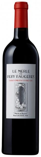 26.5.2021 - Le Merle De Peby Faugeres 2020, Saint Emilión, AOC - KAMPAŇ EN PRIMEUR