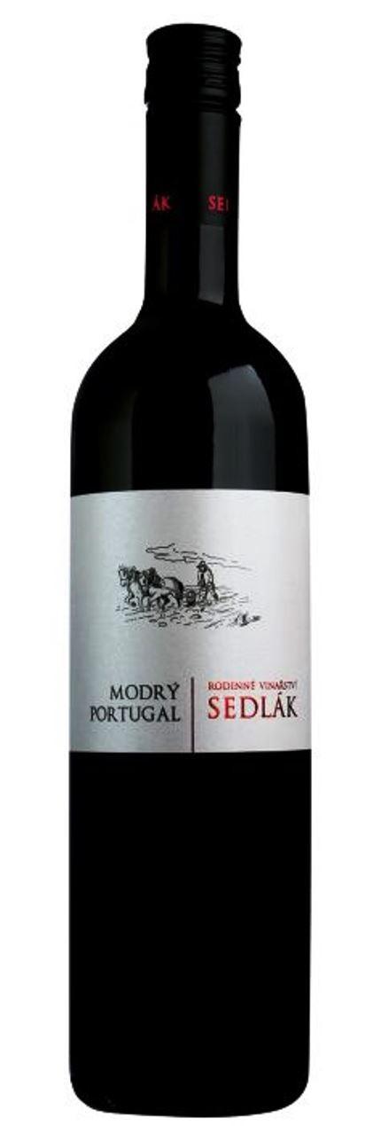 Modrý Portugal 2019, zemské, suché, Vinařství Sedlák