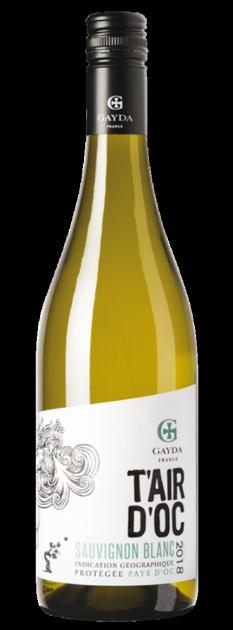 Sauvignon blanc T´ Air d´ Oc 2020, Domaine Gayda