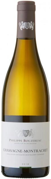 Chassagne Montrachet blanc 2019, Philippe Bouzereau, Bourgogne