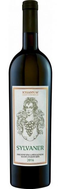 Sylvaner 2017, pozdní sběr, suché, Vinařství Johann W - Třebívlice