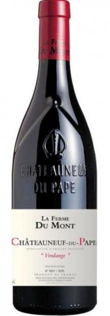 """Chateauneuf du Pape red 2019 """"Vendange"""", La Ferme du Mont"""