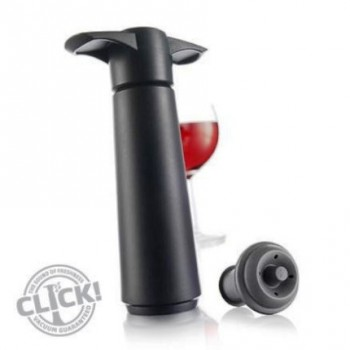 VacuVin wine saver Black - pack 1+2