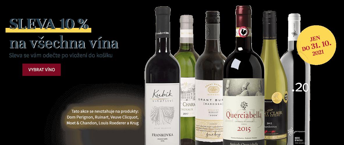 AKCE 10% sleva na všechna vína